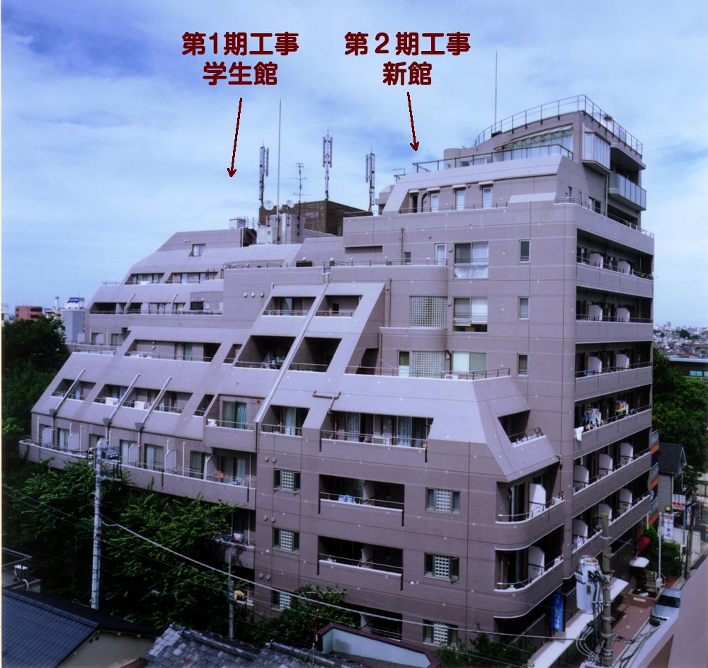 サンクリバージュ野方 第2期 竣工当時(写真:篠澤建築写真事務所)