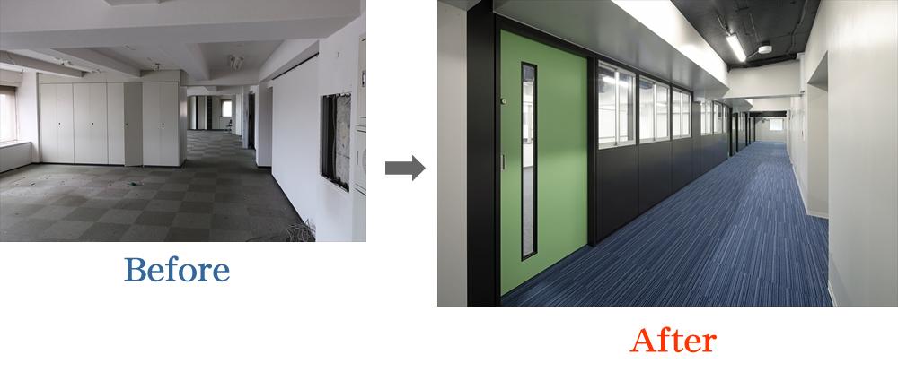 教室階廊下